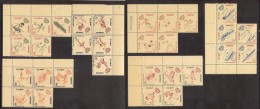 Chess Schach Echecs Ajedrez 1962 Cuba MNH 30 Stamps In 6 Sheets Of 5 RARE Mi 771-800 Sports INDER - Ajedrez