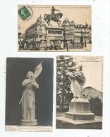 Cp , Célébrité ,   JEANNE D´ARC , 2 Scans , LOT DE 5 CARTES POSTALES - Postcards