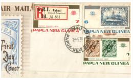 (139) Papua New Guinea FDC Cover - 1973 - Papouasie-Nouvelle-Guinée
