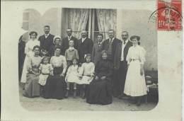 Carte Photo - En Famille - Grupo De Niños Y Familias