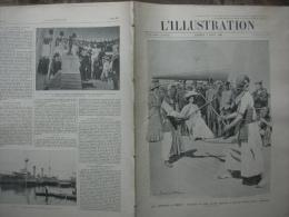 L'ILLUSTRATION 3362 RAON L'ETAPE/ OUJDA/ BRUGES/ DIRIGEABLE PATRIE/  3 Aout 1907 - L'Illustration