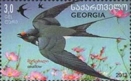 Georgia Georgien 2014 Mi. 660 Bird Swallow - Georgien