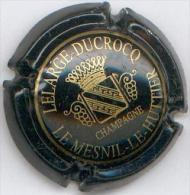 CAPSULE-CHAMPAGNE LELARGE-DUCROCQ N°03 Noir Grand écusson - Champagnerdeckel