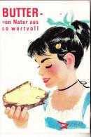 WERBUNG - BUTTER, 1957 - Advertising
