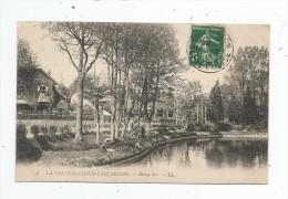 Cp , 78 , LA CELLE SAINT CLOUD - VAUCRESSON , étang Sec , Voyagée 1912 - La Celle Saint Cloud