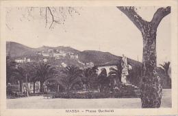 ITALIE.  MASSA.  PIAZZA GARIBALDI - Massa