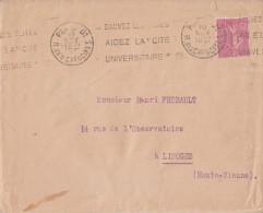 Y&T N° 202 Seul Sur Lettre - FRANCO DE PORT - Marcophilie (Lettres)