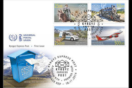 Kirgizië / Kyrgyzstan - Postfris / MNH - FDC Post Transport 2014 NEW!!! VERY RARE!!! - Kirgizië