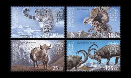 Kirgizië / Kyrgyzstan - Postfris / MNH - Complete Set Fauna 2014 NEW!!! VERY RARE!!! - Kirgizië