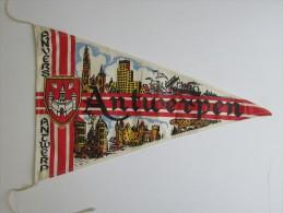 Toerisme Fanion Wimpel Antwerpen - Publicité