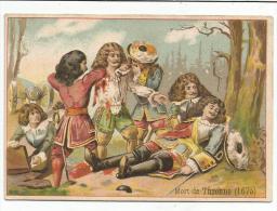 CHROMOS MORT DE TURENNE EN 1675. - Chromo