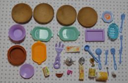 Lot D'objets Barbie : Accessoires Cuisine - Barbie