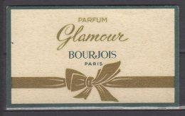 Carte Parfumée - Parfum Glamour - Bourjois - Paris - Modern (ab 1961)