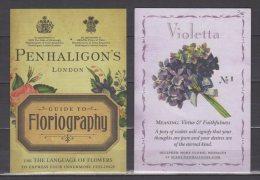 Carte Parfumée - Penhaligon's Guide To Floriography - Violetta N°1 - - Modern (ab 1961)