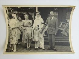 Foto Photo Foire Kermis Namur 1950's Pierrot Clown Enfants Caroussel Manege Quintet Rue Roger - Lieux