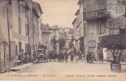 12. ST ROME DE CERNON.  N 4.  LE CENTRE. ED TAURIAC CLICHE LASSALLE.  CPAA TRES ANIMEE. VOITURE - Other Municipalities