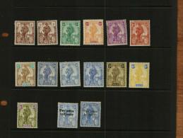MALTA – KGV - 1922-25 – DEFS – 15 STAMPS – MM - Malta