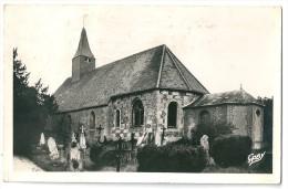 Cpsm: 27 SAINTE BARBE SUR GAILLON (ar. Les Andelys) L'Eglise (Cimetière) 1956  N° 53 - France