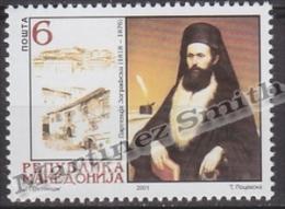 Macedonia 2001 Yvert 217, Religious Personality - MNH - Macedonia
