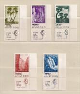 ISRAEL   ( D16 - 7594 )  1970  N° YVERT ET TELLIER  N°  394/398   N** - Unused Stamps (with Tabs)