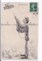 Carte 1908 Illustration Signée Tés Maix ? L'AVIATION (aviateur,avion) (édité Par Bouveret) - Sin Clasificación