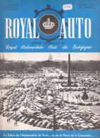 1958 Royal Auto ( Revue automobile club de Belgique ) Salon de l'Auto de Paris
