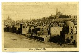 CPA Egypte Le Caire Mosquées Tombeaux Cairo General View Lehnert & Landrock 1002 - Kairo