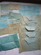 Lot De 18 Télégrammes Majoritairement 19 ème Et 1906  St Pargoire Hérault - Marcophilie (Lettres)