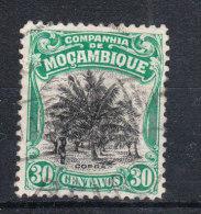 Mozambico  Cie   -   1925-31.  Palmeto. Palm Grove 30 C. Green - Vegetazione