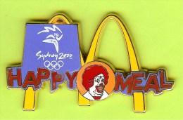 Gros Pin's BD Mac Do McDonald's Happy Meal Clown Ronald JO Jeux Olympiques Sydney 2000 - #321 - McDonald's