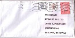 GOOD BELGIUM Postal Cover To ESTONIA  2015 - Good Stamped: King - Belgium