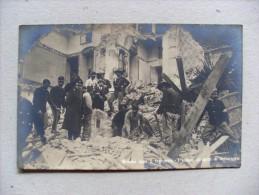 Cartolina/postcard MESSINA Dopo Il Terremoto - I Soldati All'opera Di Salvataggio (1908) Ediz. D.R. Luigi Fioroni MILANO - Catastrofi
