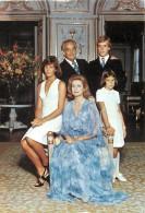 Monaco  -gd Format Div- Ref - N494 - Monaco - La Famille Princiere  - Royaute - Au Verso Philathelie - Carte Bon Etat- - Non Classés