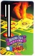 Treasure Chest Casino, Kenner, LA, U.S.A., older used slot or player�s card, # treasurechest-4