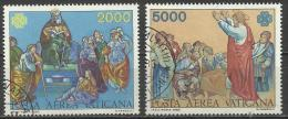 Città Del Vaticano 1983,  Posta Aerea (o), Serie Completa - Vaticano (Ciudad Del)