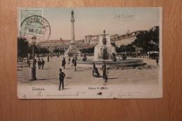 Carte Postale Ancienne Précurseur Lisboa Praça D.Pedro - Lisboa