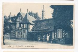 Cp , Restaurant , 14 , Houlgate , Le Lieu Marot , Cp Vierge - Restaurants