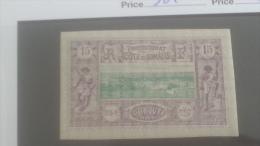 LOT 250352 TIMBRE DE COLONIE COTE DE SOMALIS NEUF* N�11 VALEUR 25 EUROS