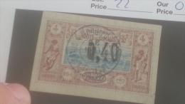 LOT 250363 TIMBRE DE COLONIE COTE DE SOMALIS OBLITERE N�22 VALEUR 50 EUROS