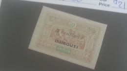 LOT 250364 TIMBRE DE COLONIE COTE DE SOMALIS NEUF* N�30 VALEUR 21 EUROS
