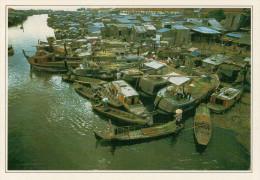 HO CHI MINH   MERCATO DELLA CANNA DA ZUCCHERO    (NUOVA CON DESCRIZIONE DEL SITO SUL RETRO) - Vietnam