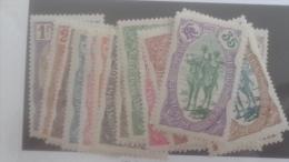 LOT 250369 TIMBRE DE COLONIE COTE DE SOMALIS NEUF* N�67 A 82 VALEUR 290 EUROS