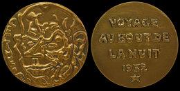 """M05002  LOUIS-FERDINAND CELINE - LITTERATURE - 1932 (198 G) """"Voyage Au Bout De La Nuit"""" Au Revers - Professionals/Firms"""