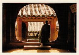 HAIENSA:  TEMPIO  BUDDISTA        (NUOVA CON DESCRIZIONE DEL SITO SUL RETRO) - Corea Del Nord