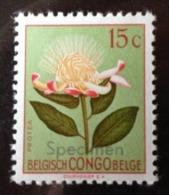 """Congo belge - 303 avec surcharge """"Specimen"""" - MNH"""