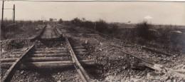 Photo Mars 1918 BIACHE-SAINT-VAAST (près Brebières) - Sur La Ligne De Chemin De Fer Douai-Arras (A99, Ww1, Wk1) - France