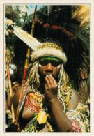 GIOVANE DONNA PAPUA DELLE  MONTAGNE    (NUOVA CON DESCRIZIONE DEL SITO SUL RETRO) - Papua Nuova Guinea