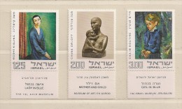 ISRAEL   ( D16 - 7706 )  1974  N° YVERT ET TELLIER  N°  546/548    N** - Unused Stamps (with Tabs)