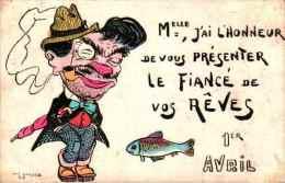 1er Avril - Aug Jandelle - Le Fiancé De Vos Rêves - 1° Aprile (pesce Di Aprile)