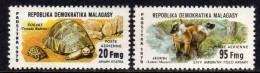 Madagascar P.A. n� 177 / 78 XX Faune malgache, les 2 valeurs sans charni�re, T8